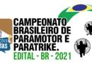 EDITAL do Campeonato Brasileiro de Paramotor e Paratrike, temporada 2021.
